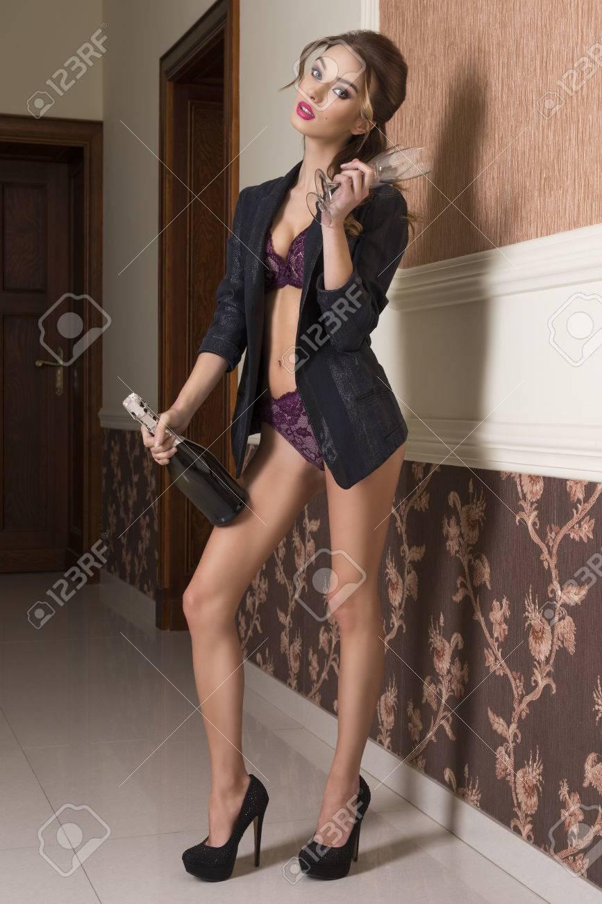 guy pissing on naughty brunette