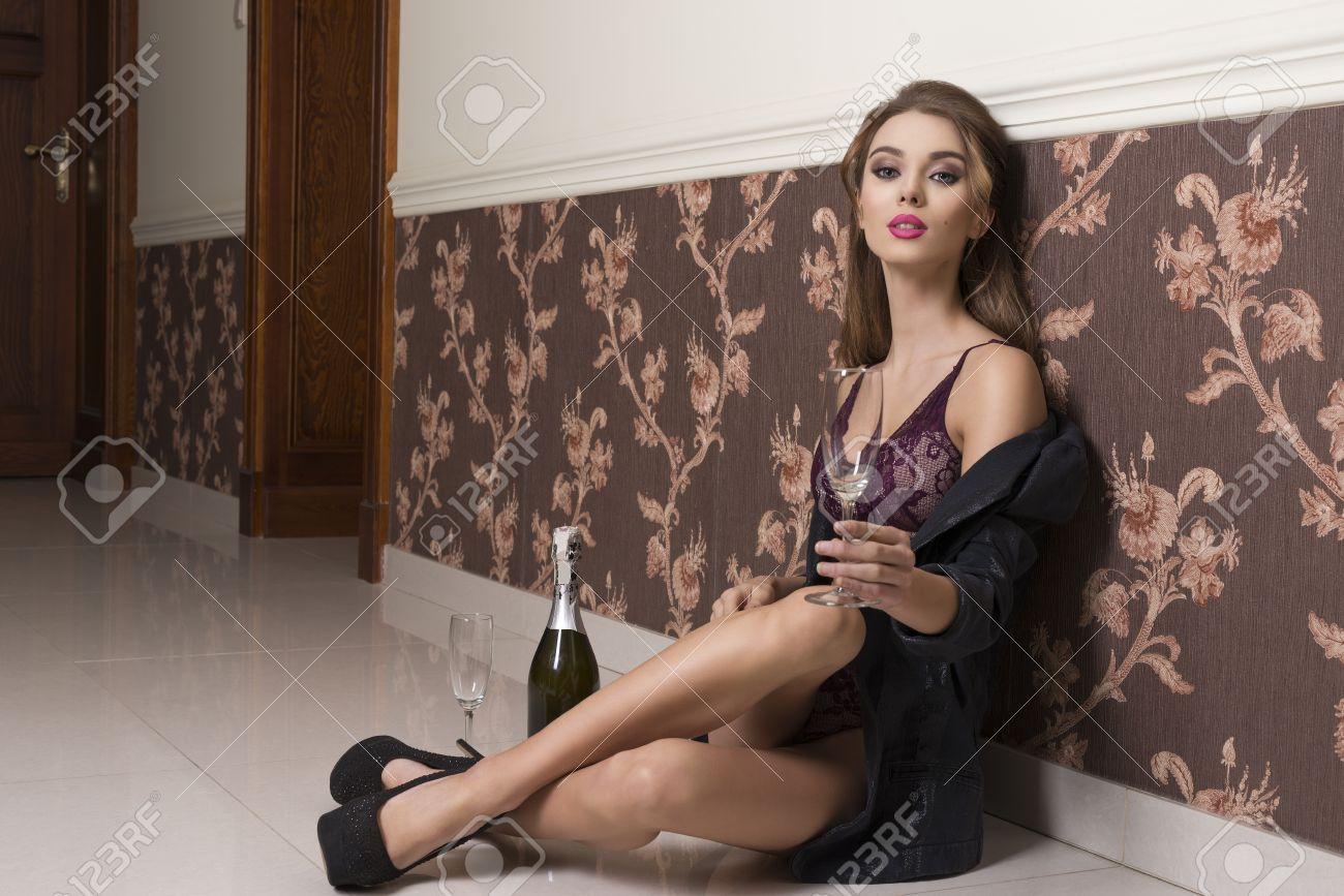 Mädchen schwimmen Sehr sexy erotik