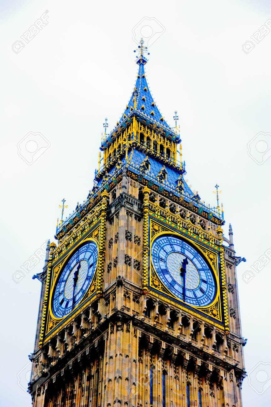 big ben - clock tower Stock Photo - 15532085