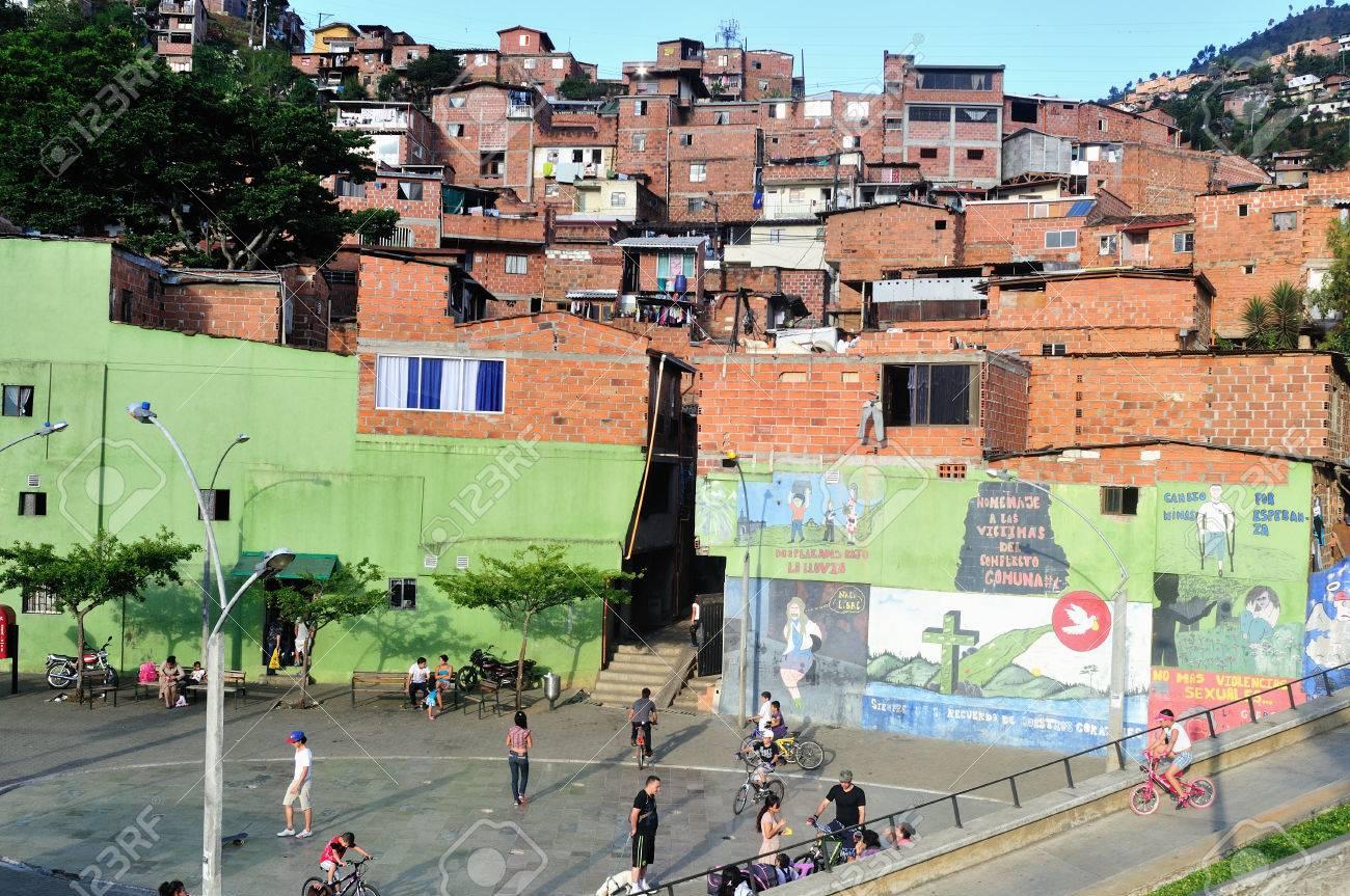 Santo Domingo district in MEDELLIN .Department of Antioquia. COLOMBIA Stock Photo - 23140924