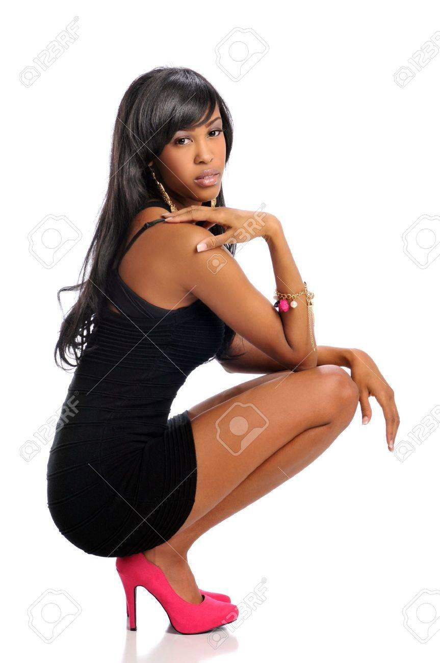 Black Women High Heels