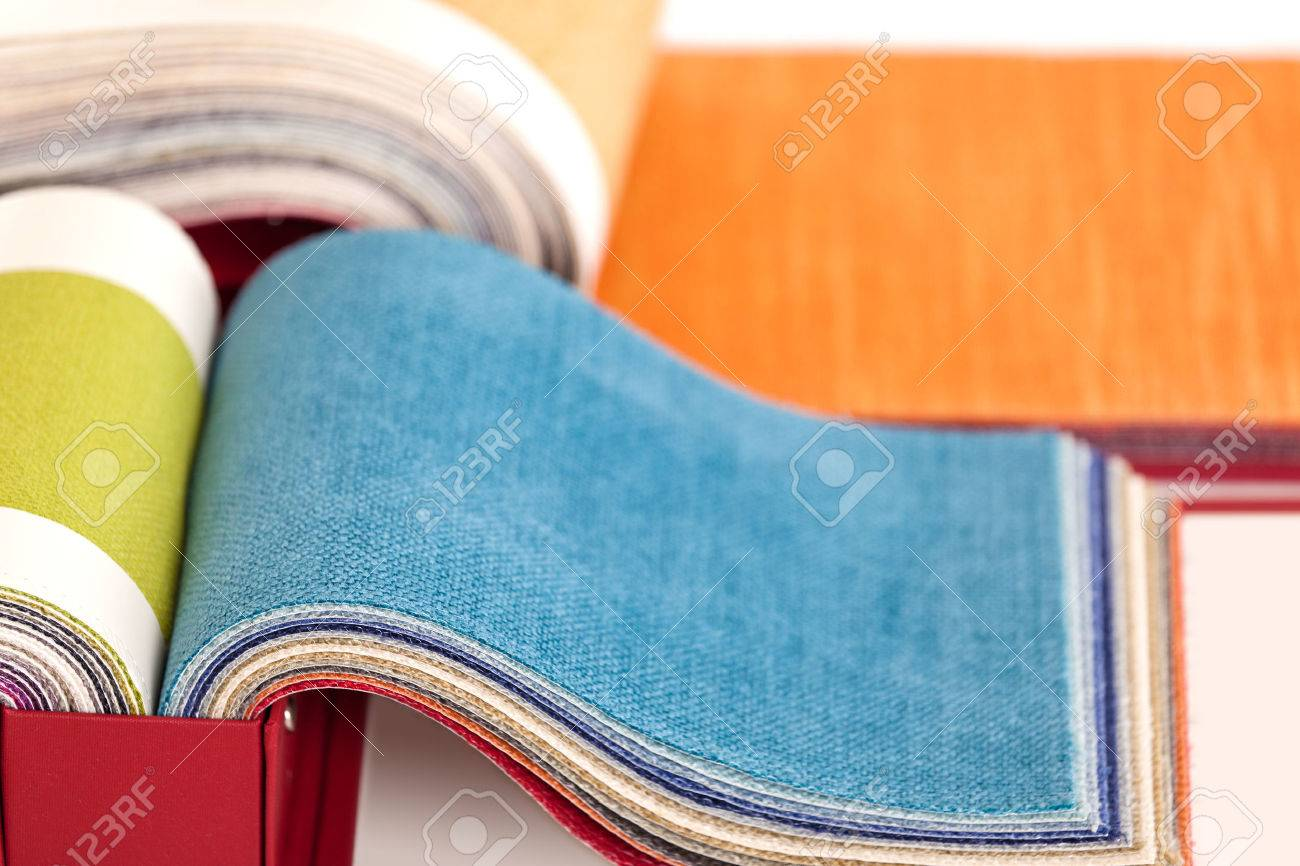 Upholstery fabric samples - 47892614