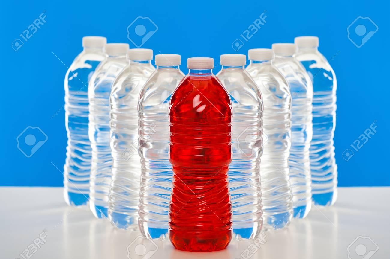Group of plastic bottles - 49154235