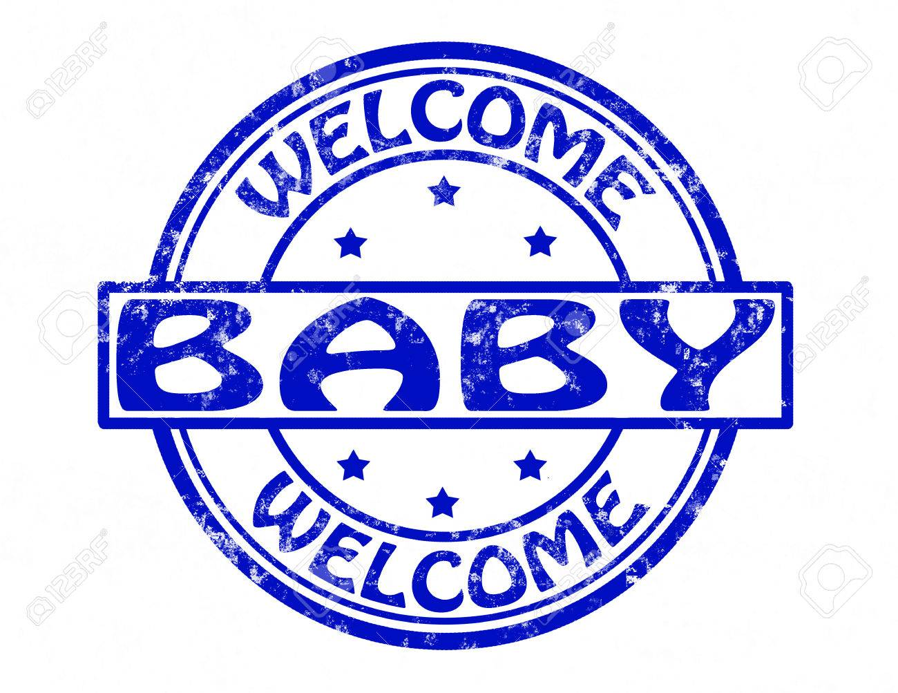 Stamp with text welcome baby inside vector illustration royalty stamp with text welcome baby inside vector illustration stock vector 25513795 buycottarizona Gallery