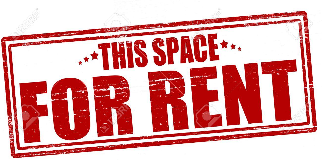 Stamp With Text This Space For Rent Inside, Vector Illustration ...