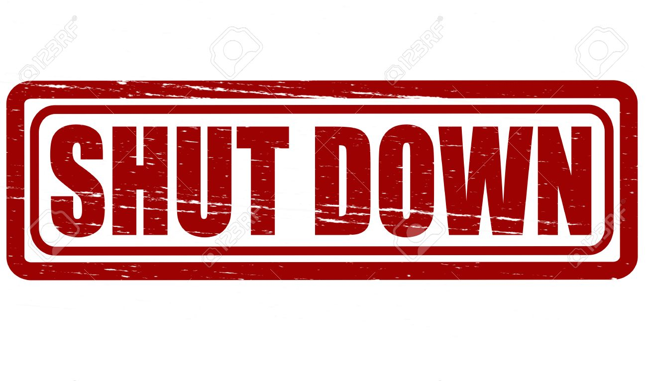 Image result for shutdown