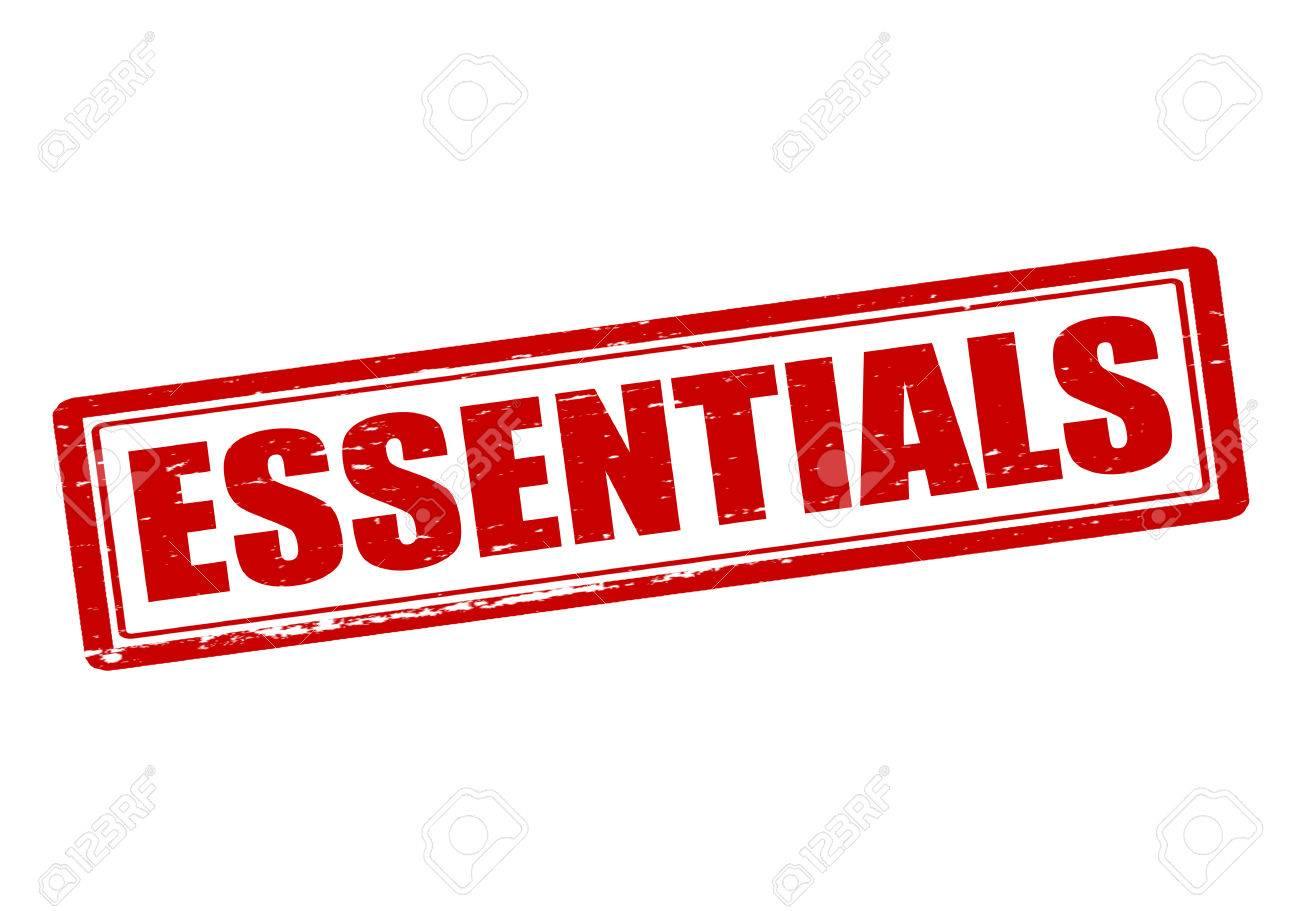 Image result for images for the word essentials