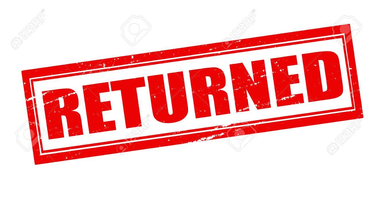 Image result for returned word
