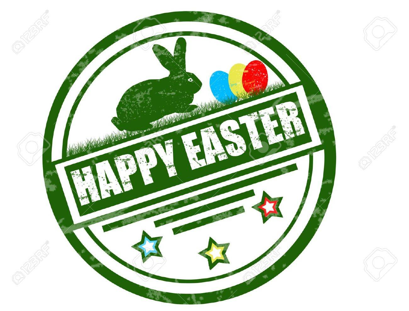 happy easter stamp - 11359131
