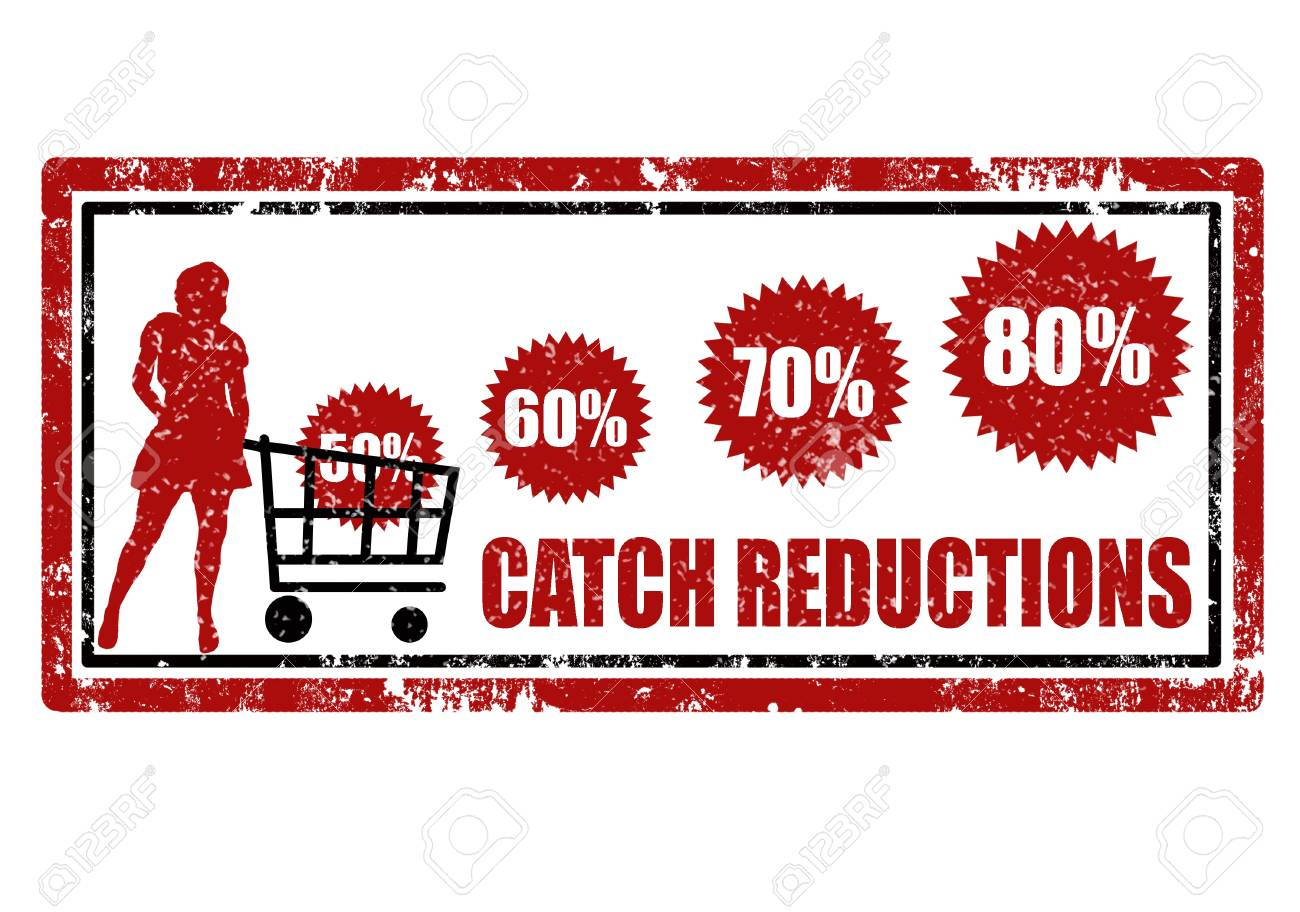Grunge rubber stamp with customer,and word catch reductions,vector illustration Stock Vector - 12027643