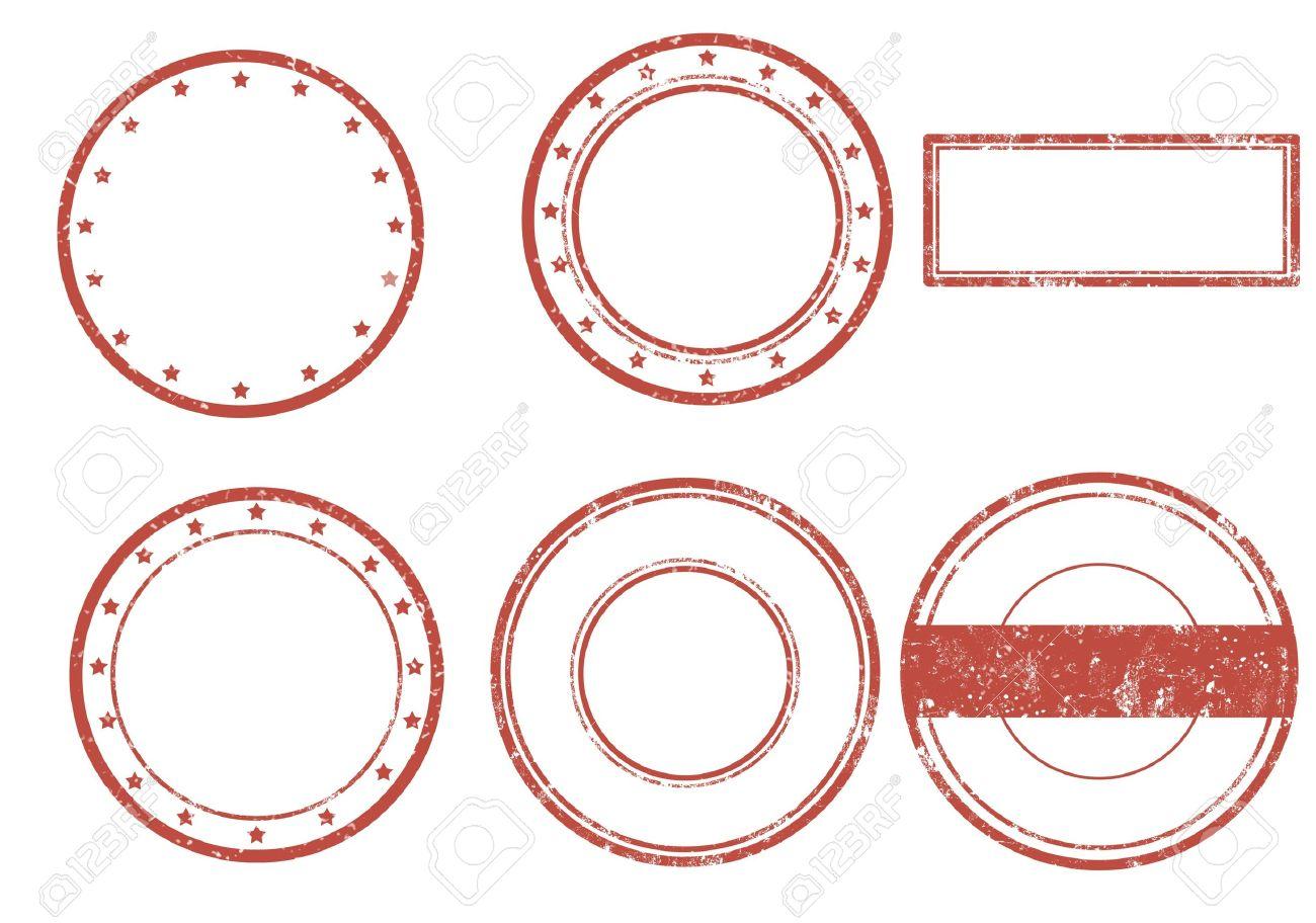 Set of grunge rubber stamp, illustration - 17176909