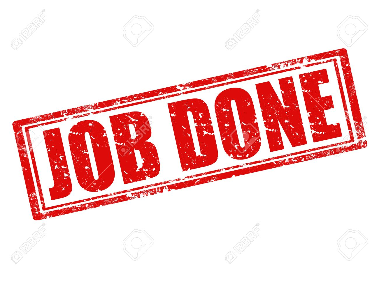 Job Done Stamp Images & Stock Pictures. Royalty Free Job Done ...