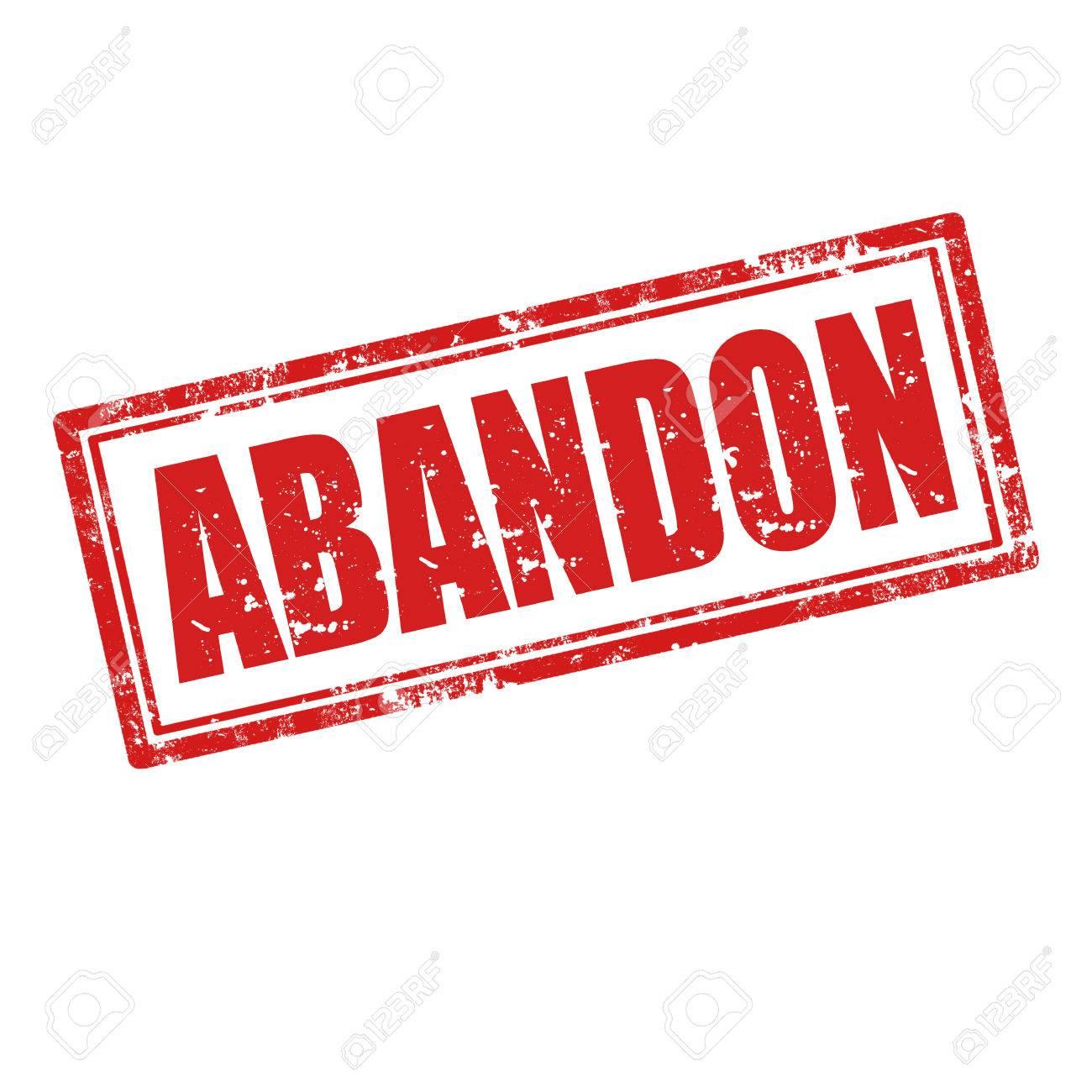 [ABANDON] Pincab Gerby08 23994014-Tampon-en-caoutchouc-grunge-avec-le-mot-abandon-illustration-vectorielle-Banque-d'images