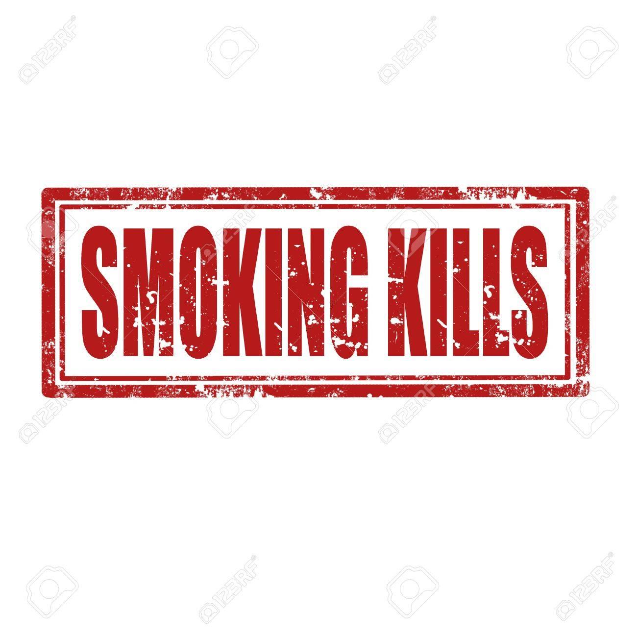 Smoking Kills - Rectangle Signs Royalty Free Cliparts, Vectors ...