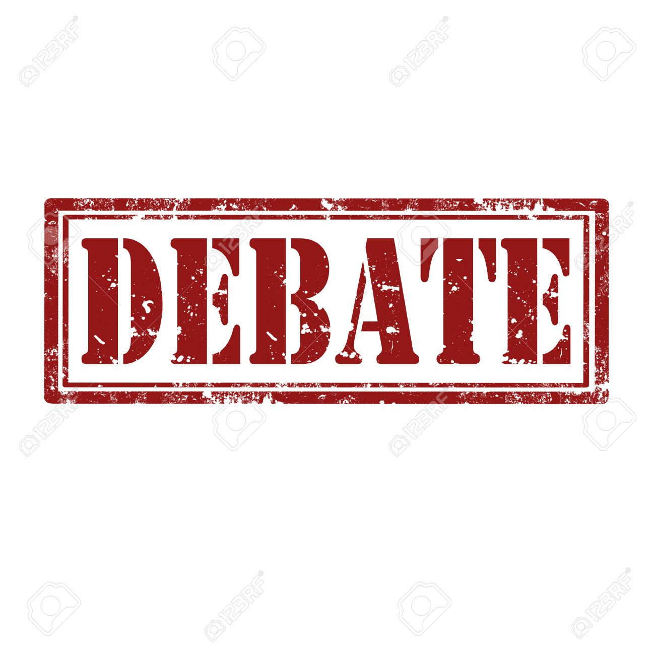 Grunge rubber stamp with word Debate,vector illustration - 24752960
