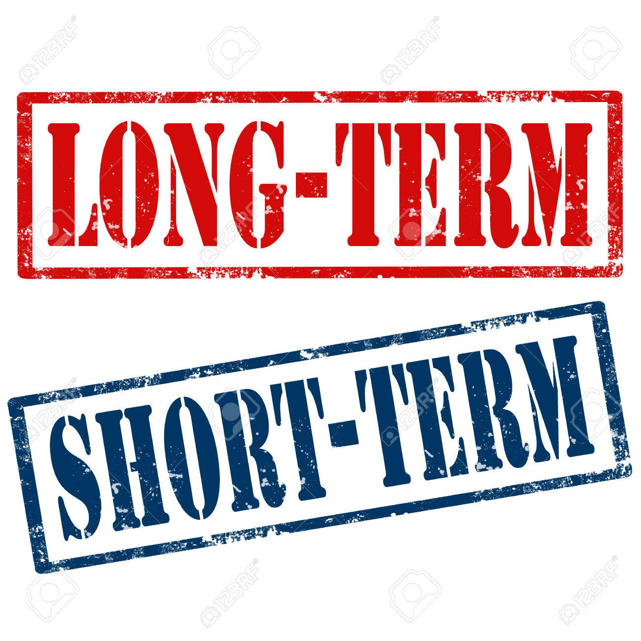 what is long term and short term