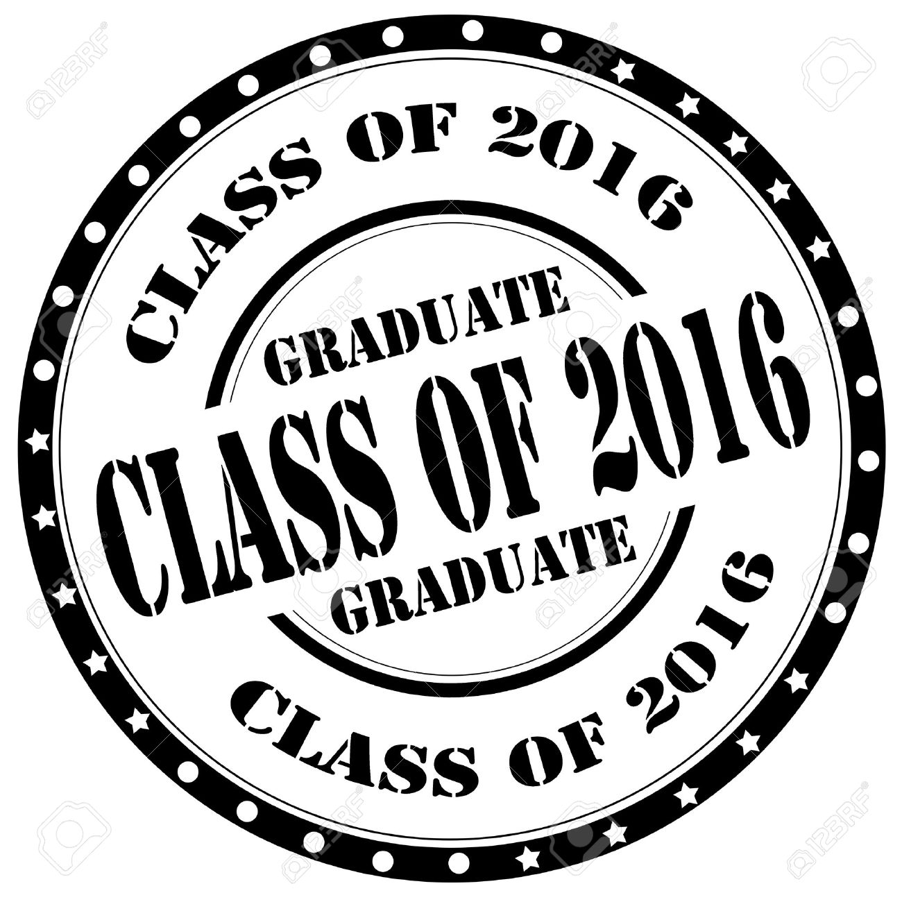 Grunge rubber stamp with text Class Of 2016,vector illustration - 39622428