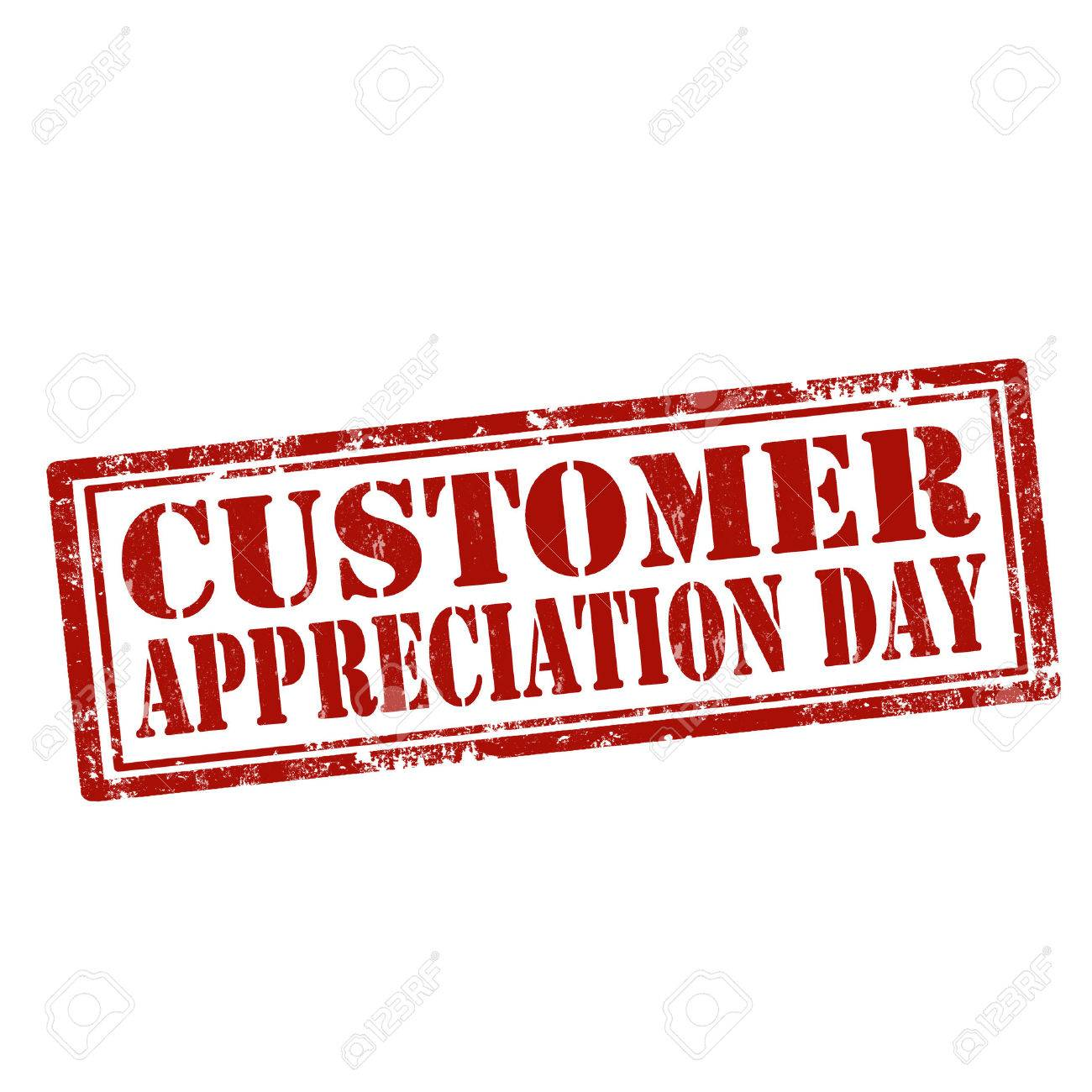 Grunge rubber stamp with text Customer Appreciation Day,vector illustration - 61024903