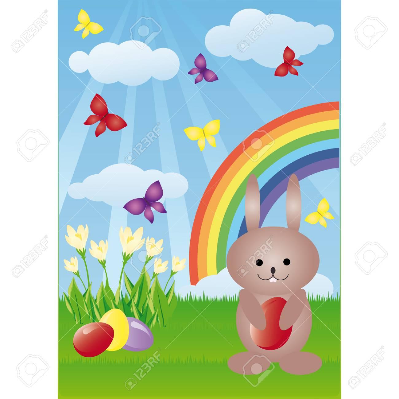 Easter bunny Stock Vector - 6546110