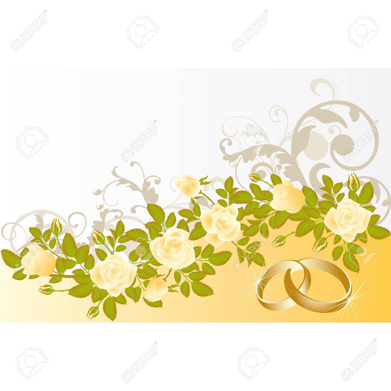 wedding card Stock Vector - 7056644
