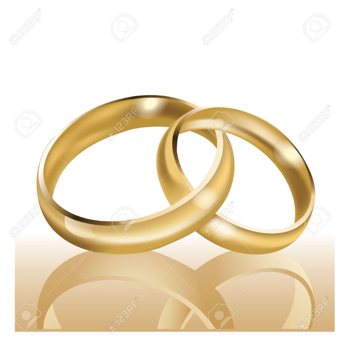 Wedding rings symbol  Wedding Rings, Symbol Of Marriage And Eternal Love Royalty Free ...