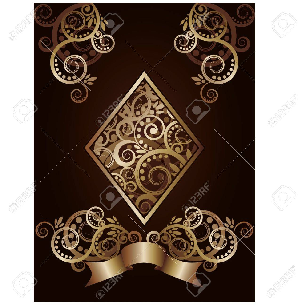 Diamond ace poker playing cards, illustration Stock Vector - 17714105