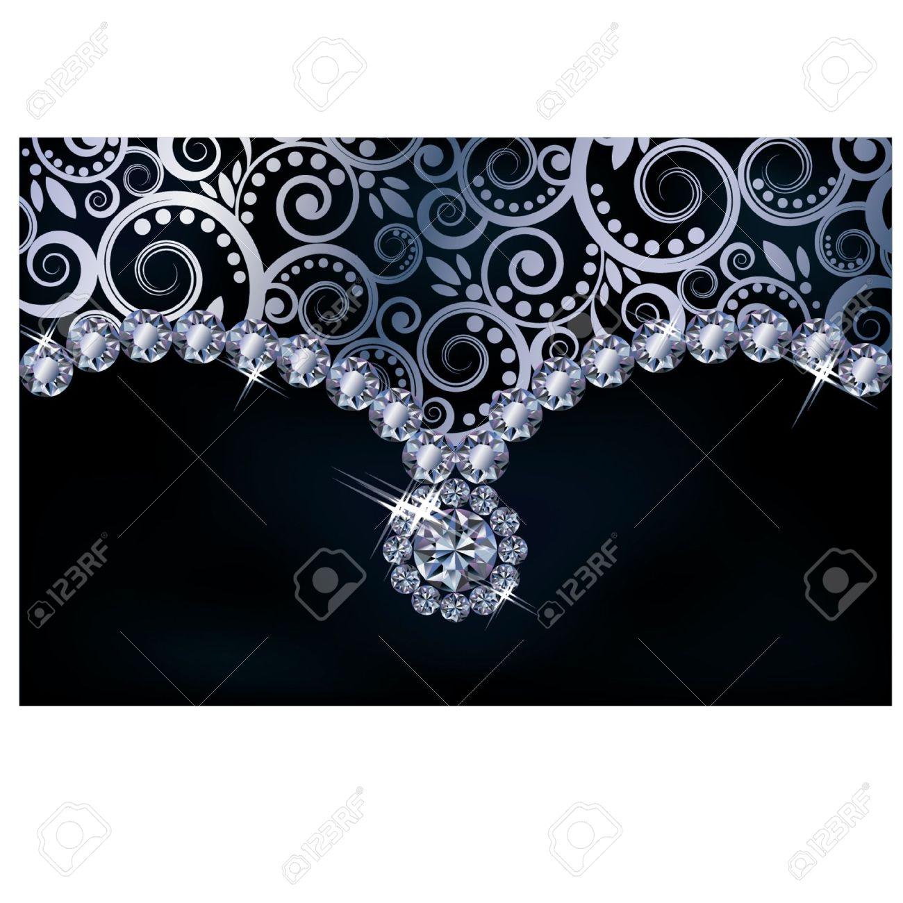 Diamond background,  illustration Stock Vector - 18116895