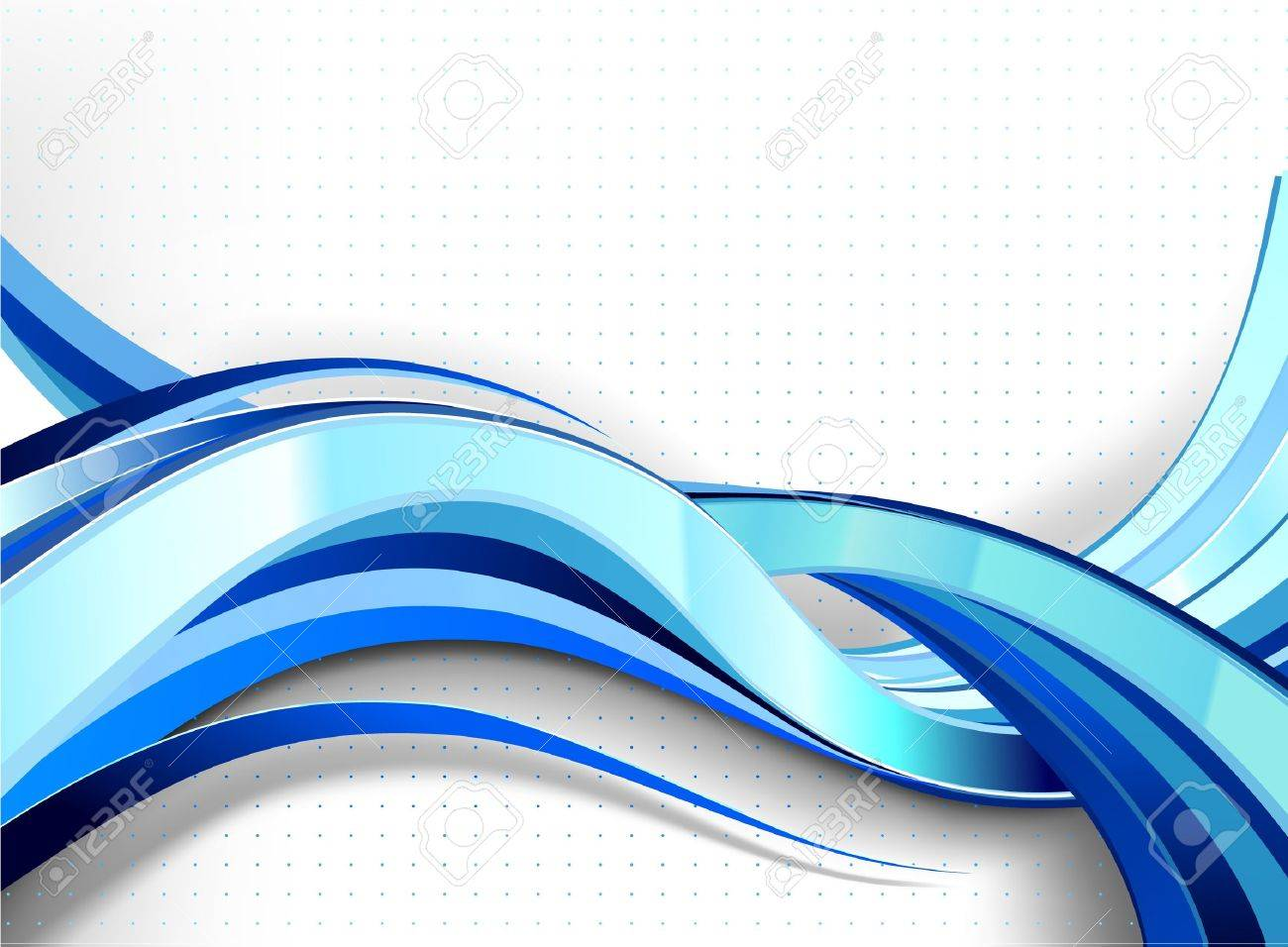 Stylish abstract wave flow. No transparencies used. Gradient mesh used. Stock Vector - 12479709