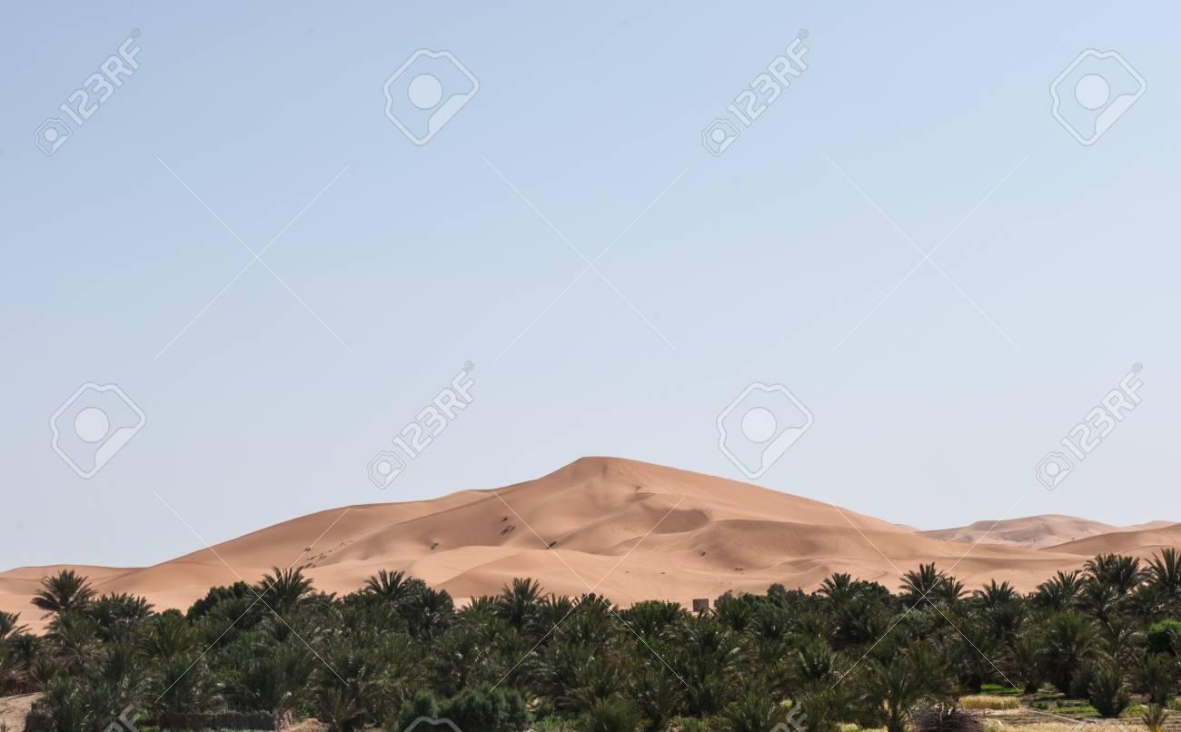 Great dune Merzouga Morocco Stock Photo - 24273649