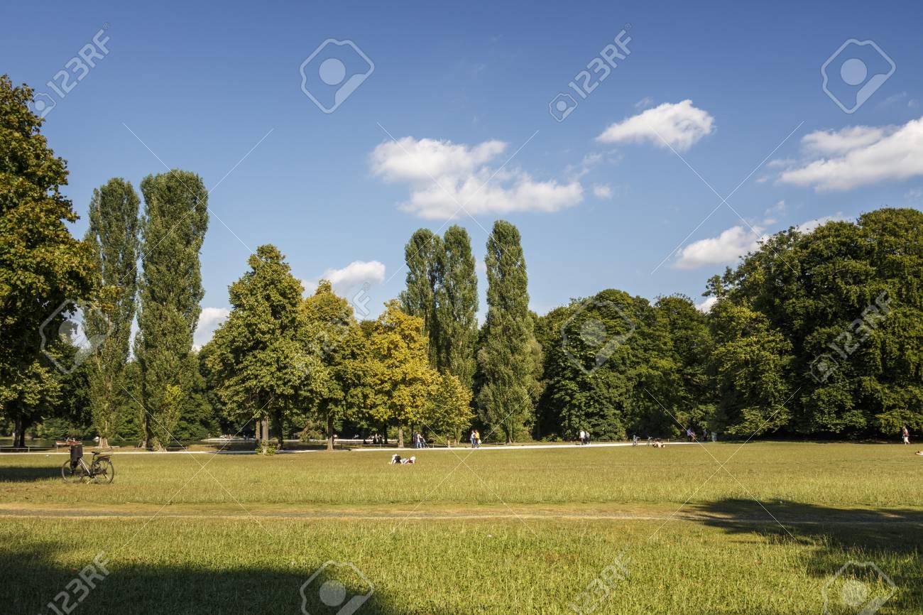 The Englischer Garten English Garden Is A Large Public Park