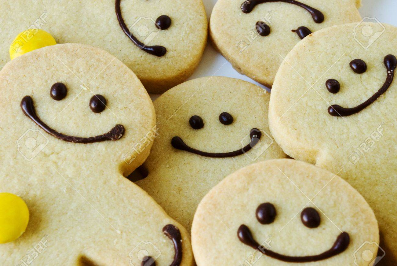 Shortbread men happy to be together Stock Photo - 3313597