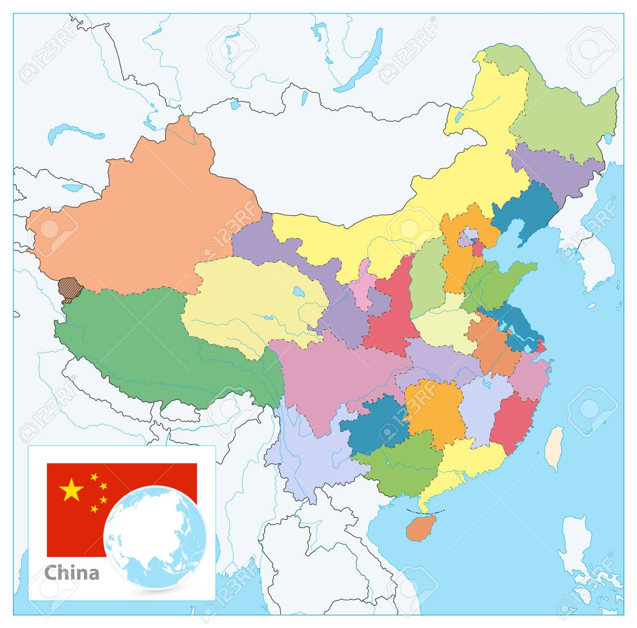 China Political Map. No text. Detailed vector map of China with.. on map italy cities, map of shanghai, map of florida east coast railway, map canada cities, map germany cities, map of christianity religion, chinese map china cities, map china cities guangzhou province, map spain cities, map of koblenz, germany, map of japan, map of chinese people, map big cities in china, map of palermo, italy, map of thailand, map of canada history, english in china map with cities, china provinces and cities, map of india states, map usa cities,