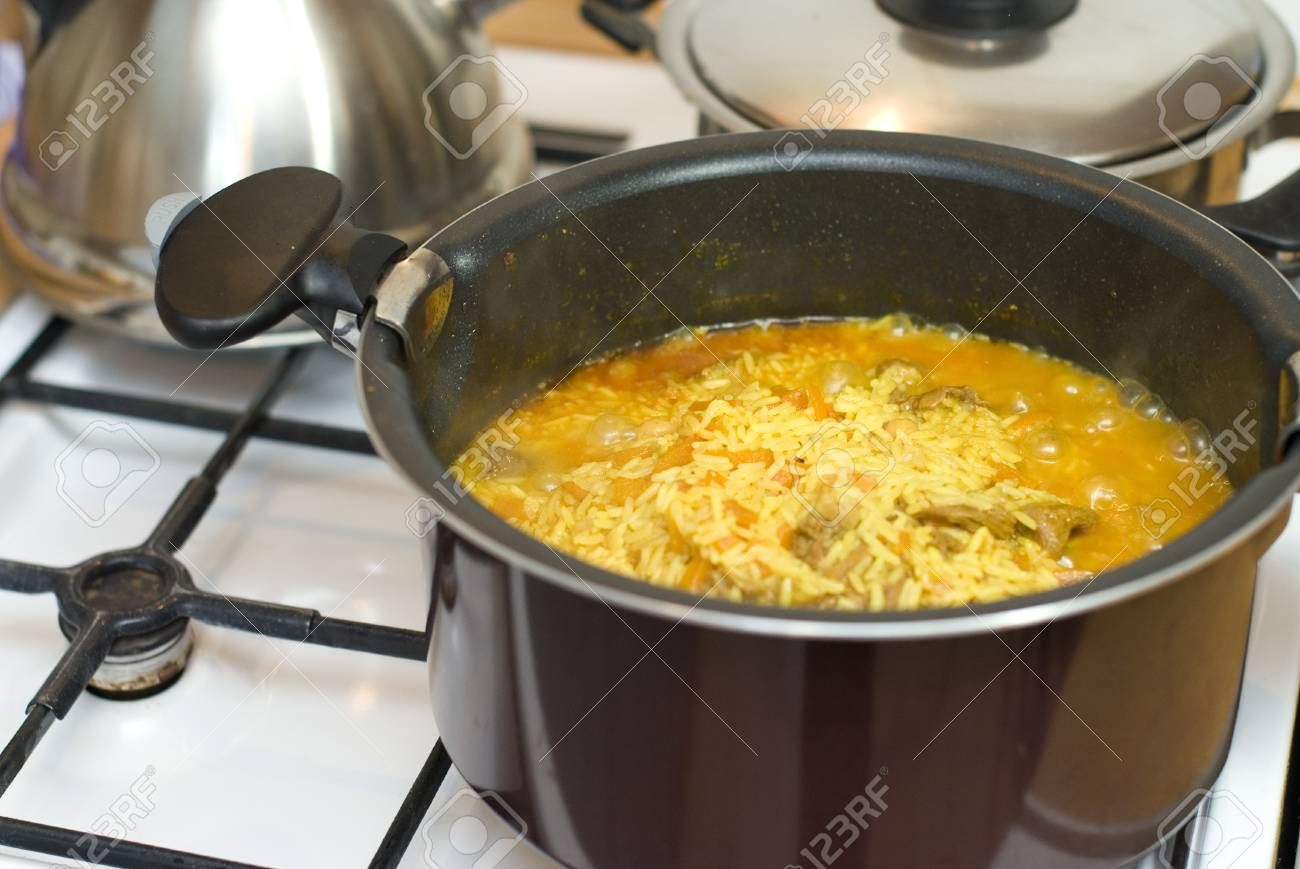 How to cook Uzbek pilaf