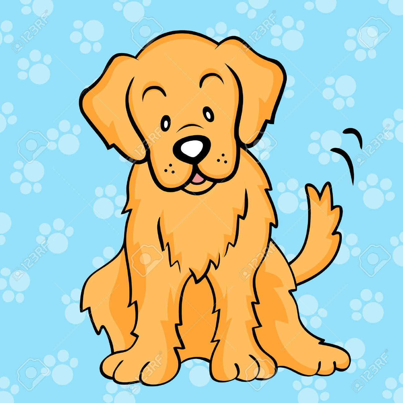 Golden Retriever Royalty Free Cliparts Vectors And Stock
