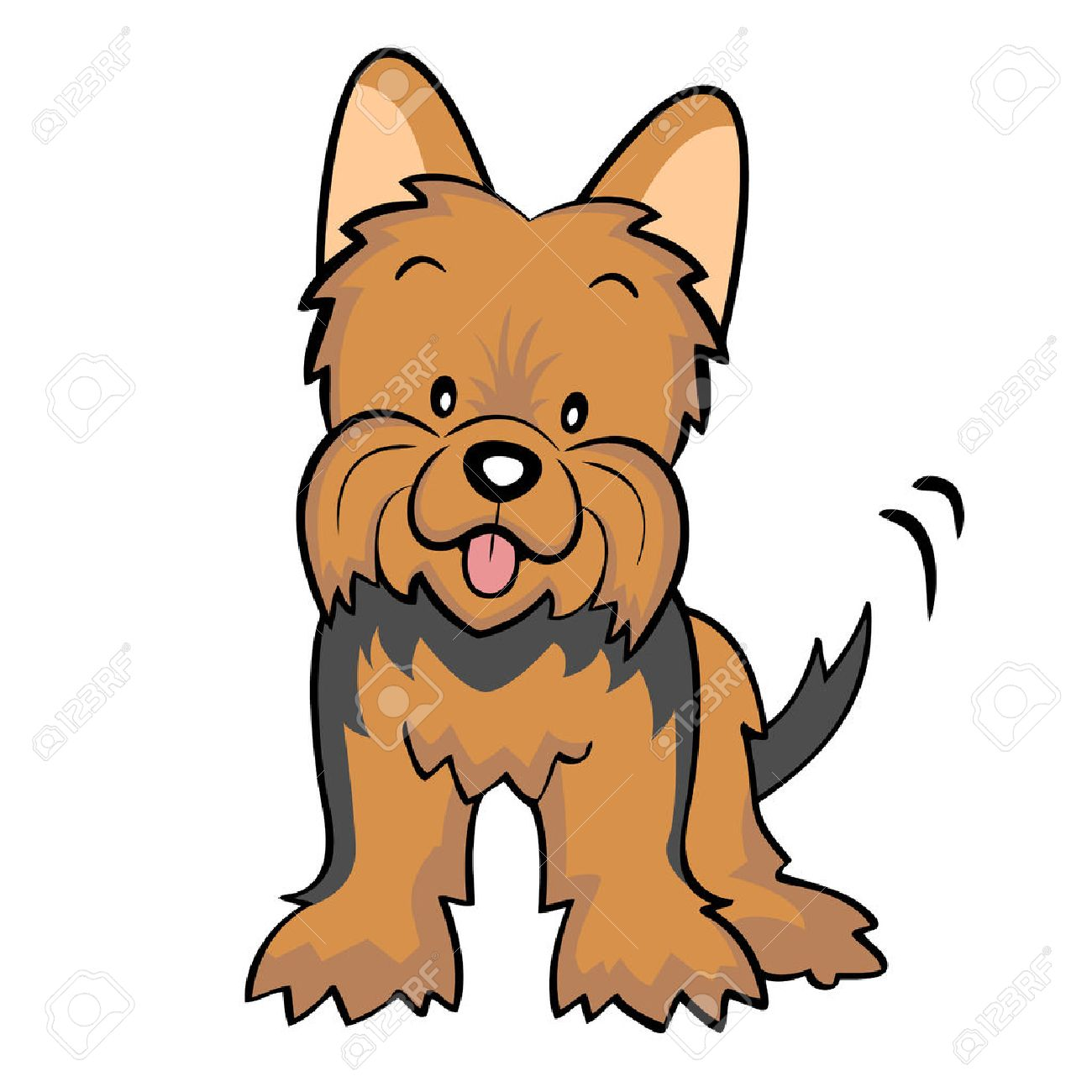 194 Yorkie Stock Illustrations, Cliparts And Royalty Free Yorkie ...