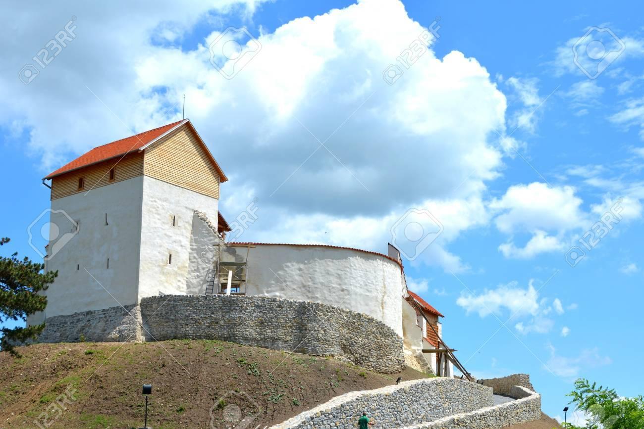 中世ドイツ騎士団要塞村 Feldioara トランシルヴァニア ブラショフ
