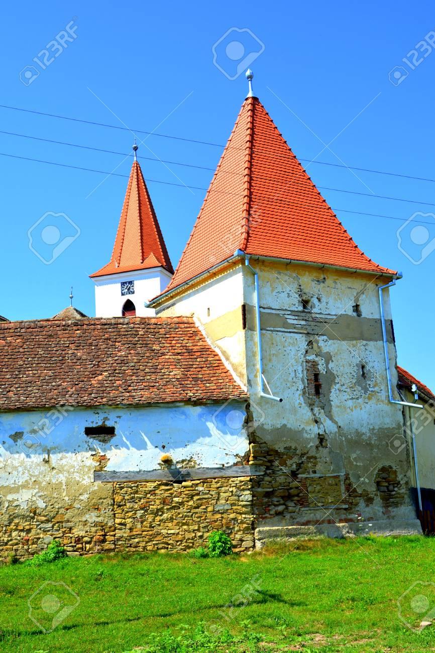 要塞化された中世ザクセン教会 B...