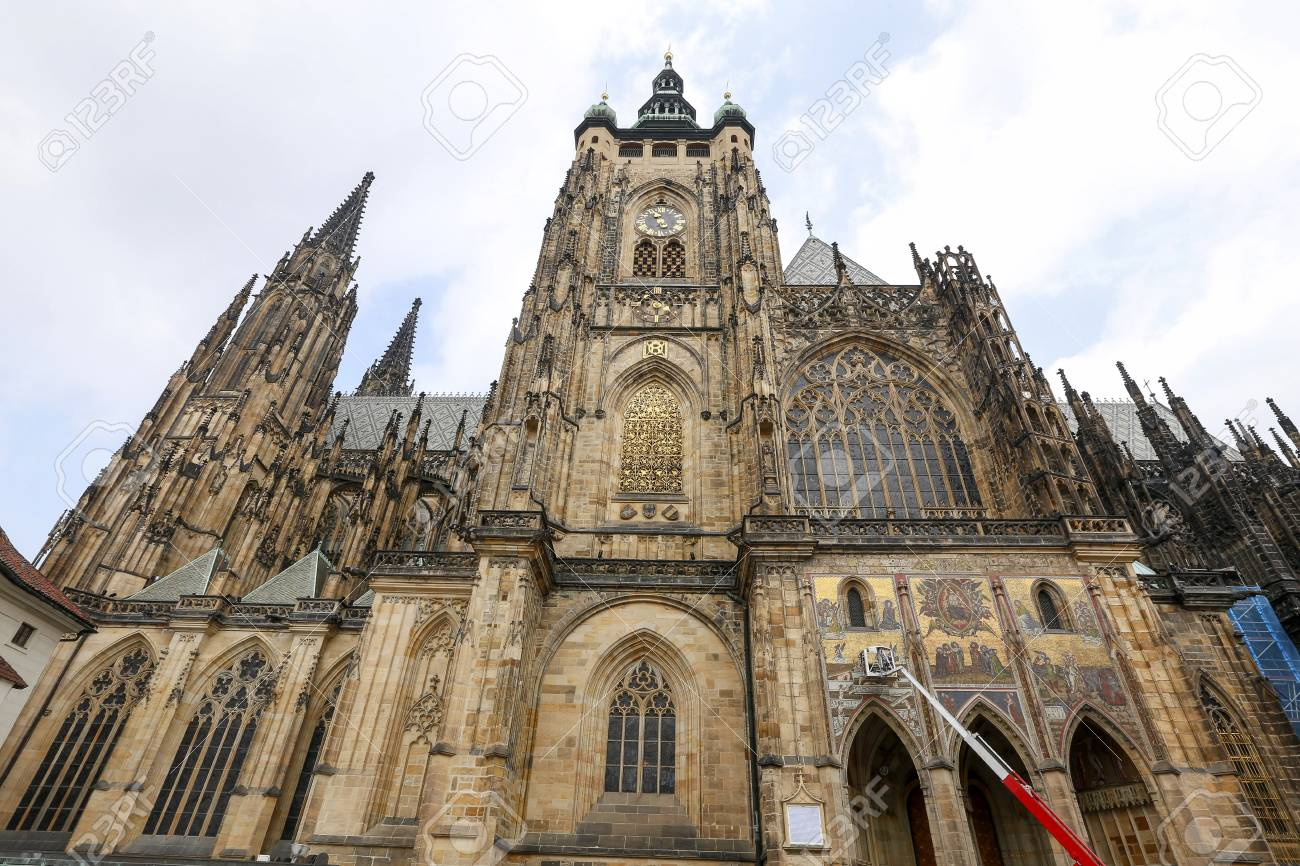 Prague Castle Gothic architecture of st