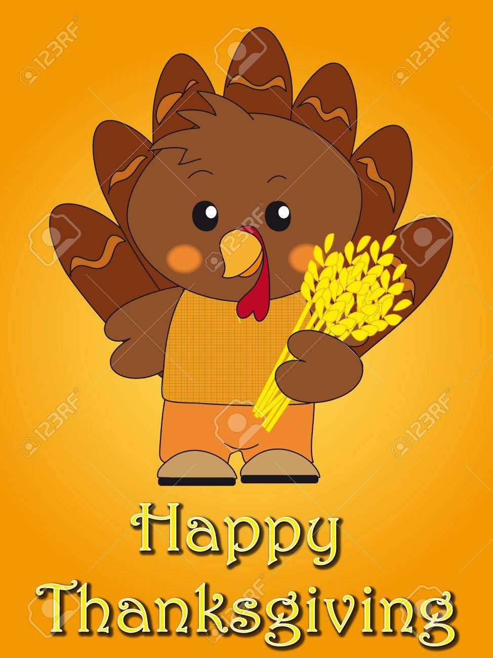 thanksgiving card Stock Photo - 14030835