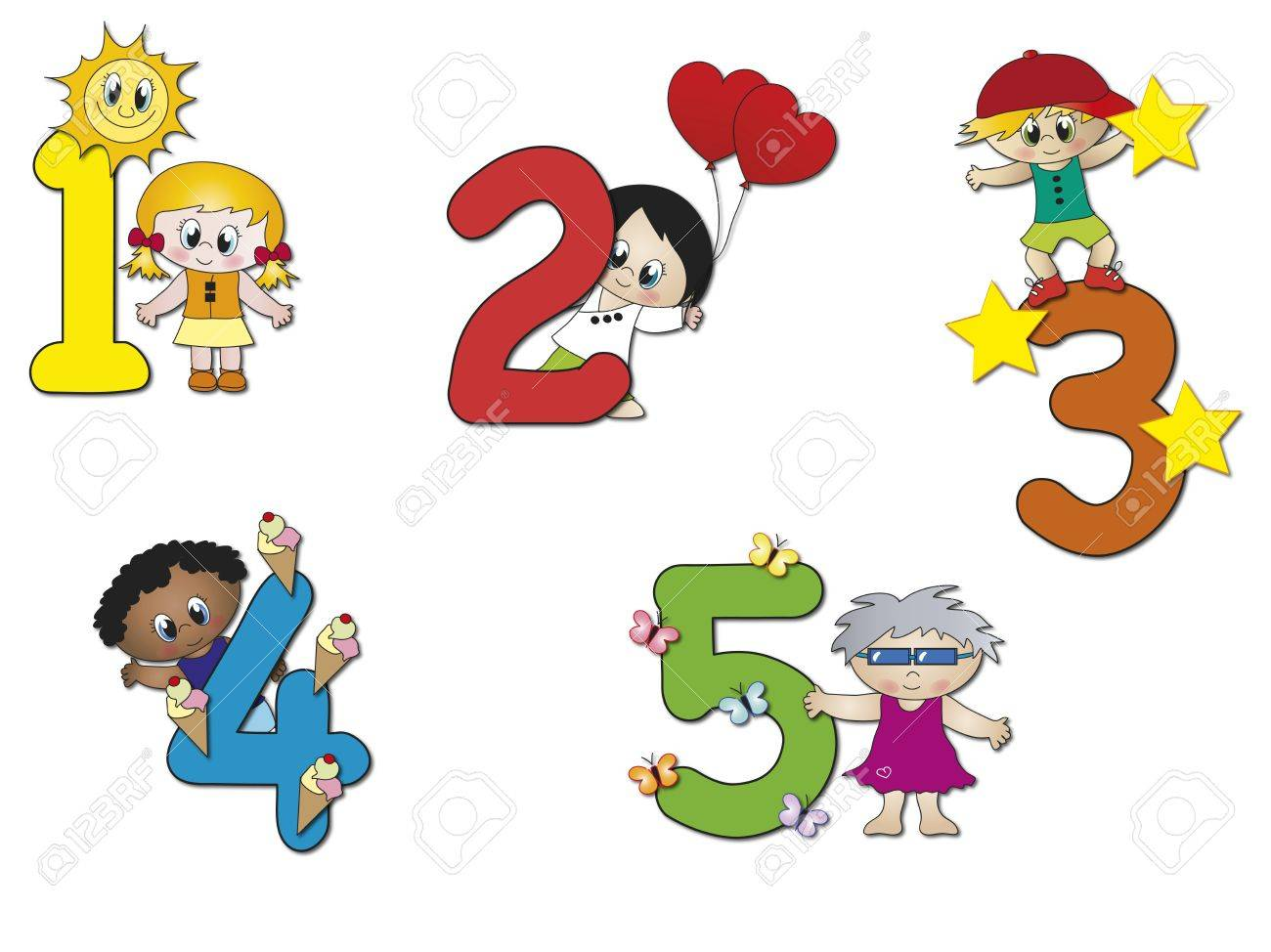numbers Stock Photo - 15473147