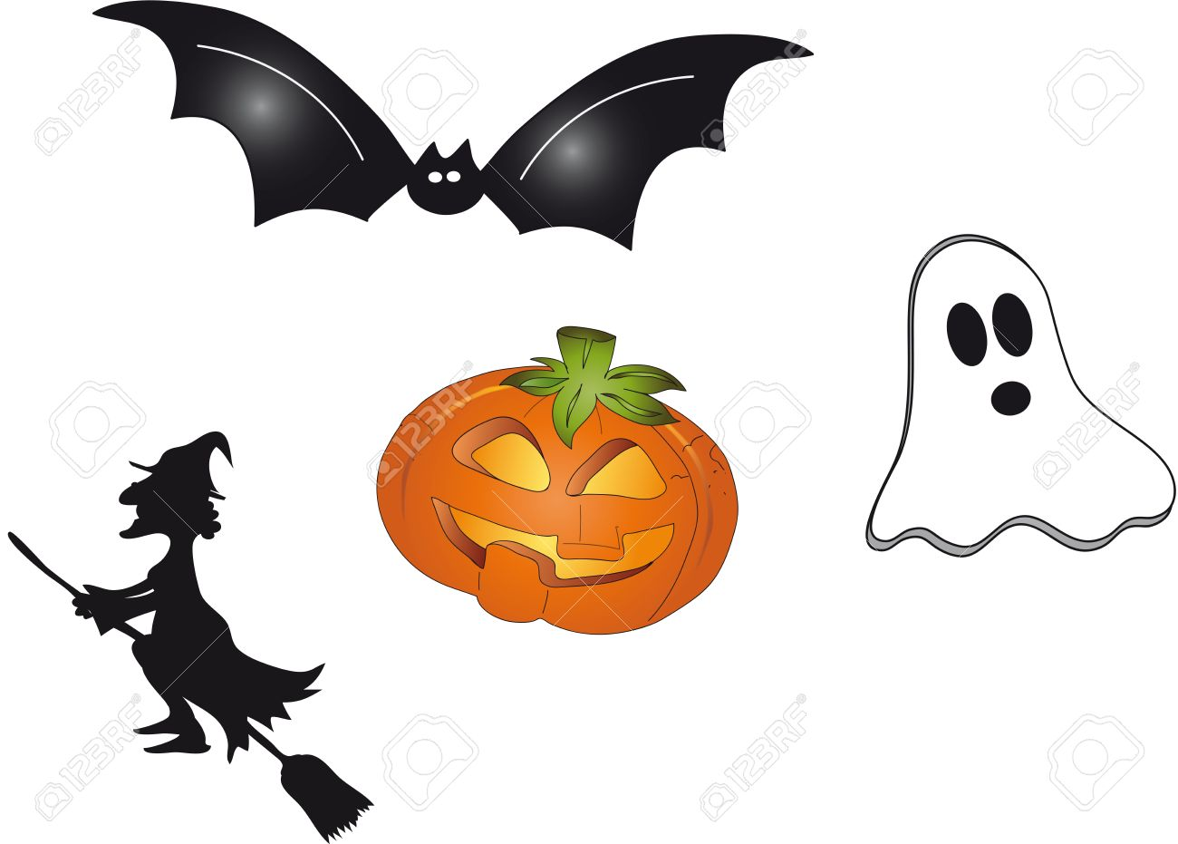 Halloween symbols stock photo picture and royalty free image halloween symbols biocorpaavc Choice Image