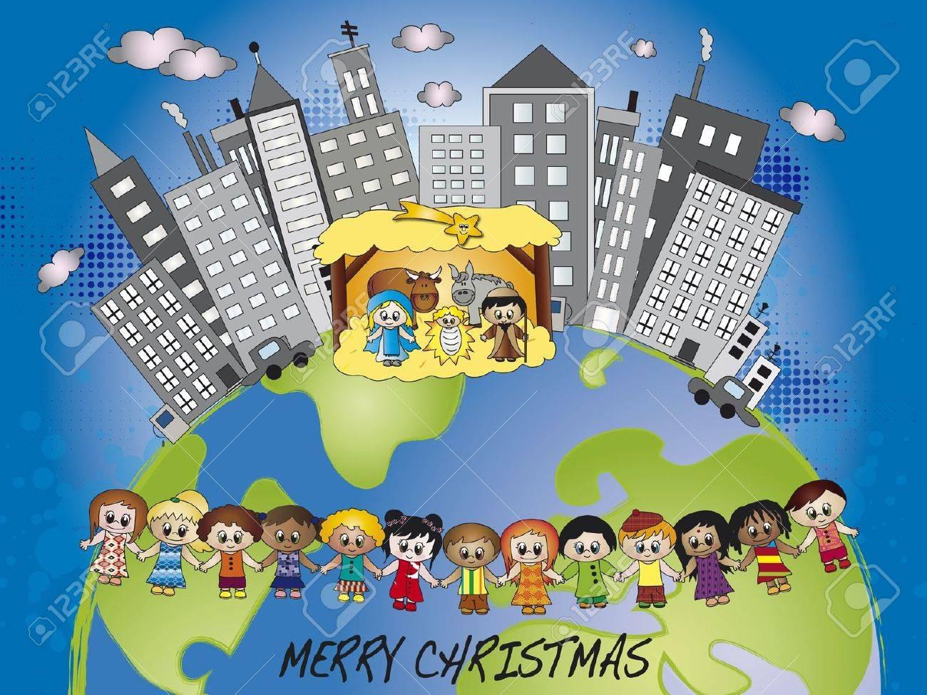 nativity in the world Stock Photo - 16471281