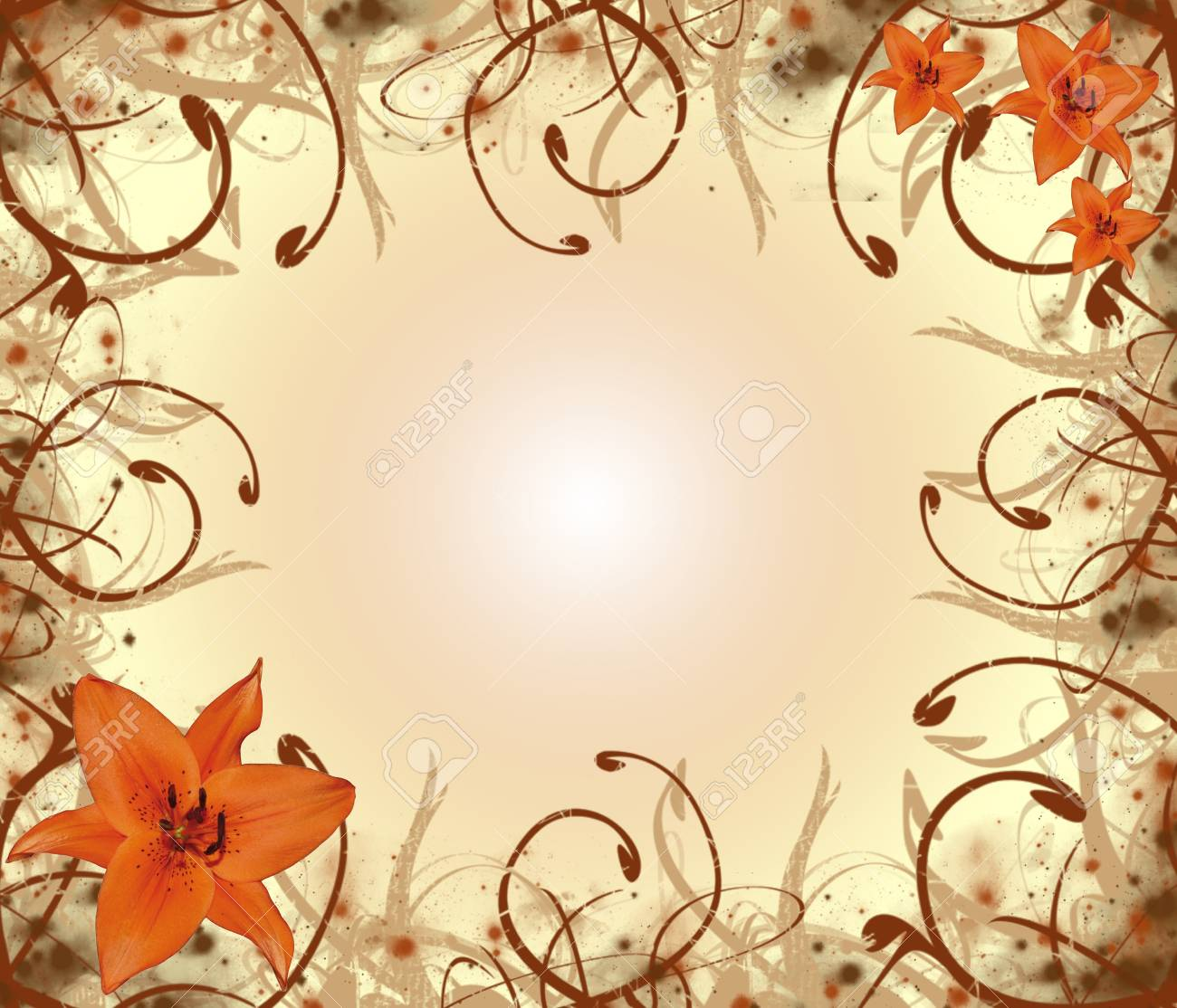 flower background Stock Photo - 17081341