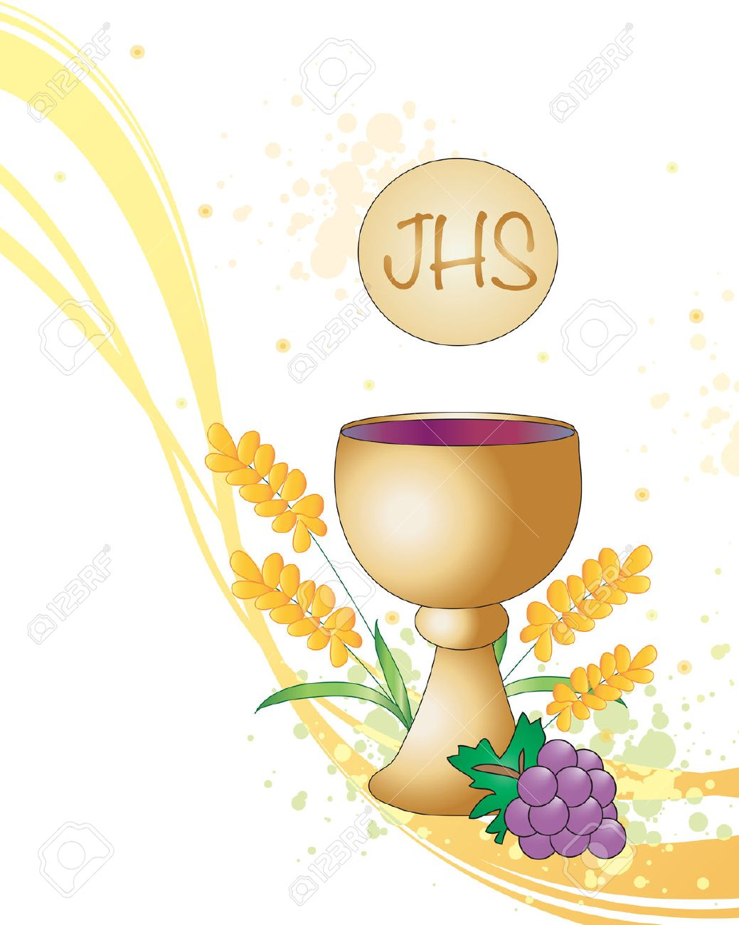 Symbolic Illustration For The First Communion Stock Photo Picture And Royalty Free Image Image 36223586