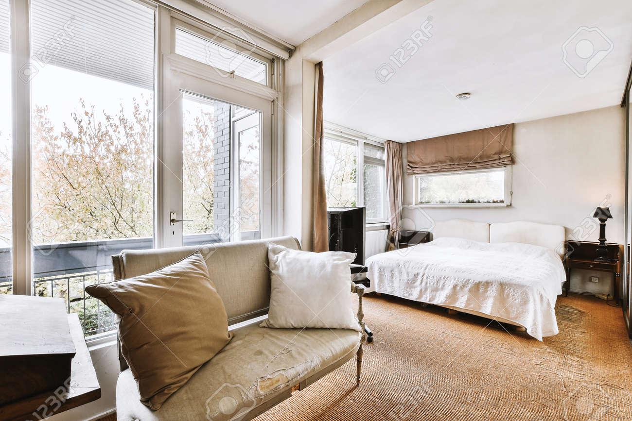Luxury bedroom of house in beautiful design - 167650828