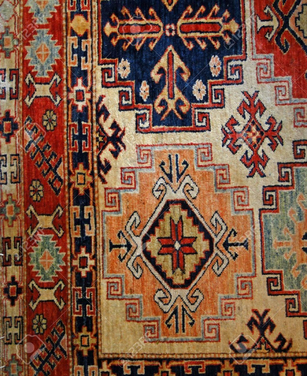 banque dimages tapis turc le dtail des motifs en design oriental - Tapis Turc
