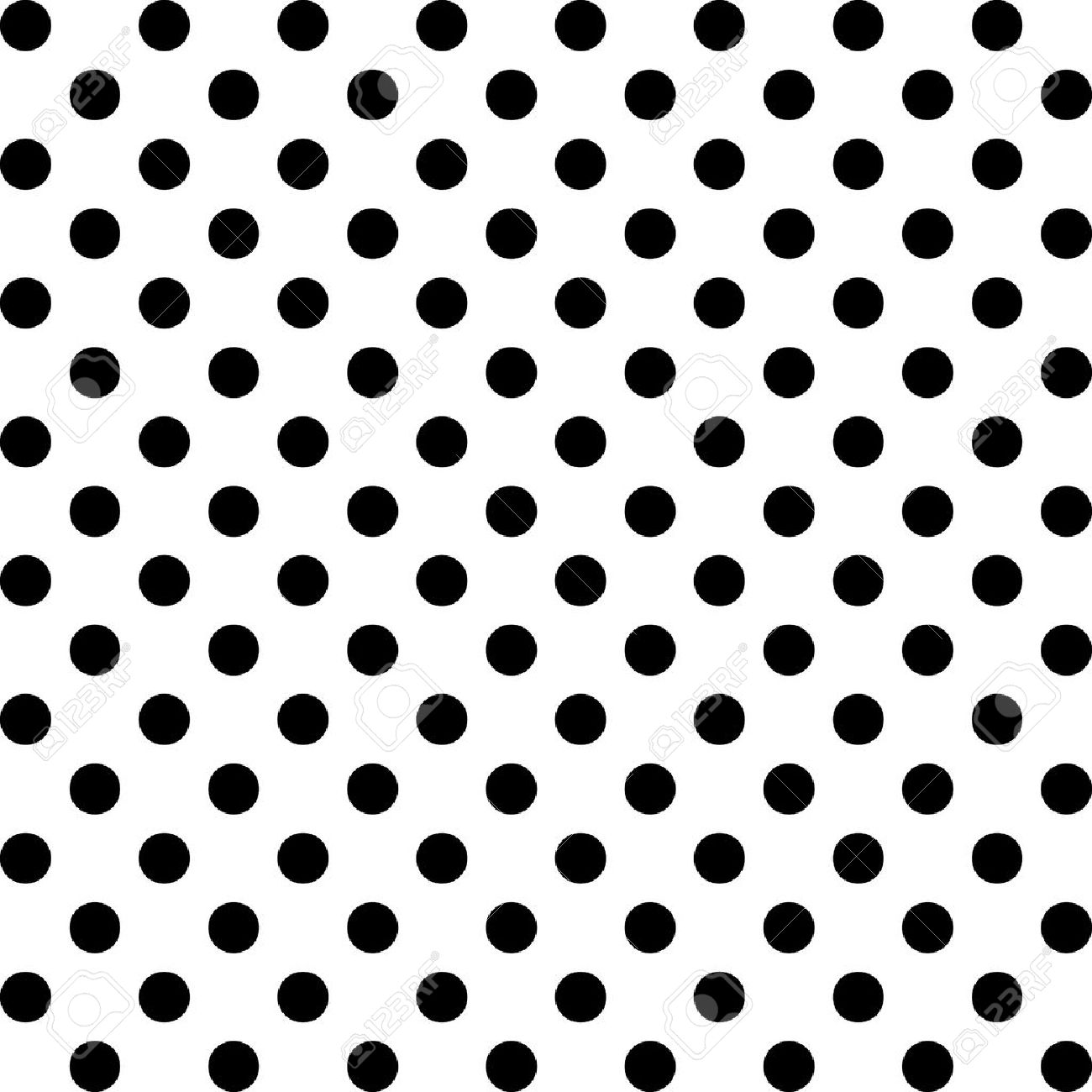 seamless pattern big black polka dots on white royalty free rh 123rf com vector dot pattern gradient dot pattern vector illustration