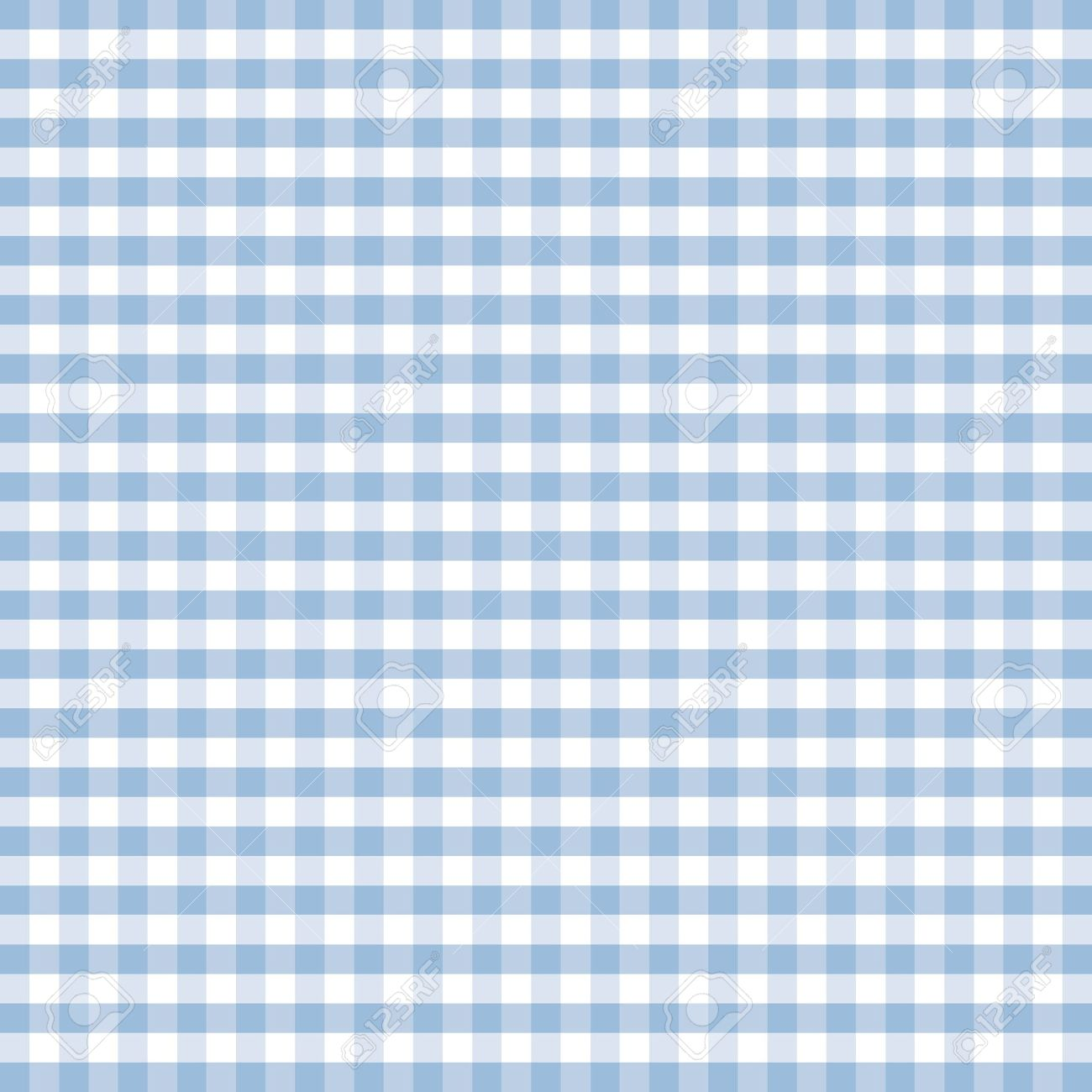Pastel Blue Part - 29: Seamless Pattern, Pastel Blue And White Gingham Check Background Stock  Vector - 12972646
