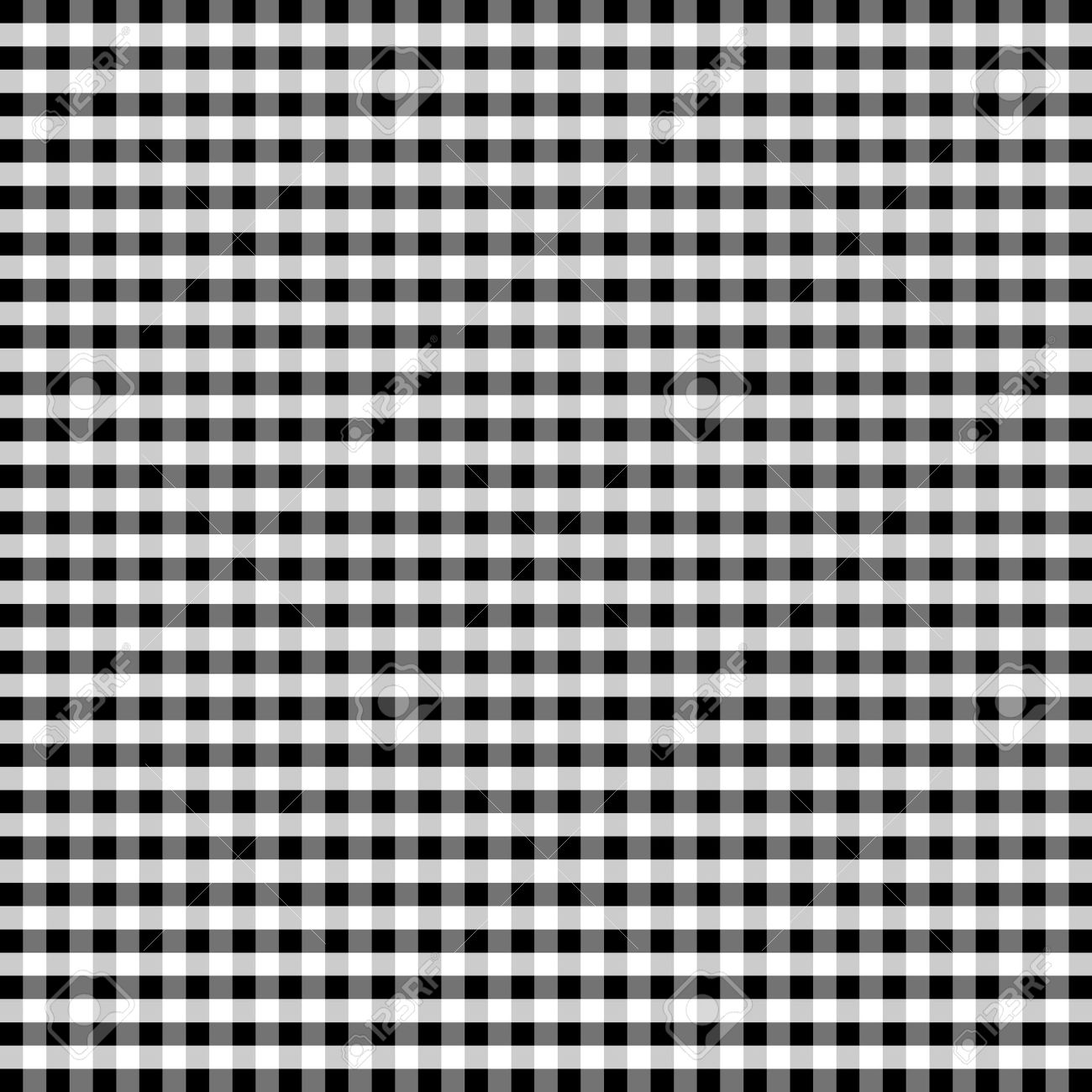 Seamless black and white checkered texture stock images image - Seamless Pattern Black And White Gingham Check Background Stock Vector 12972689