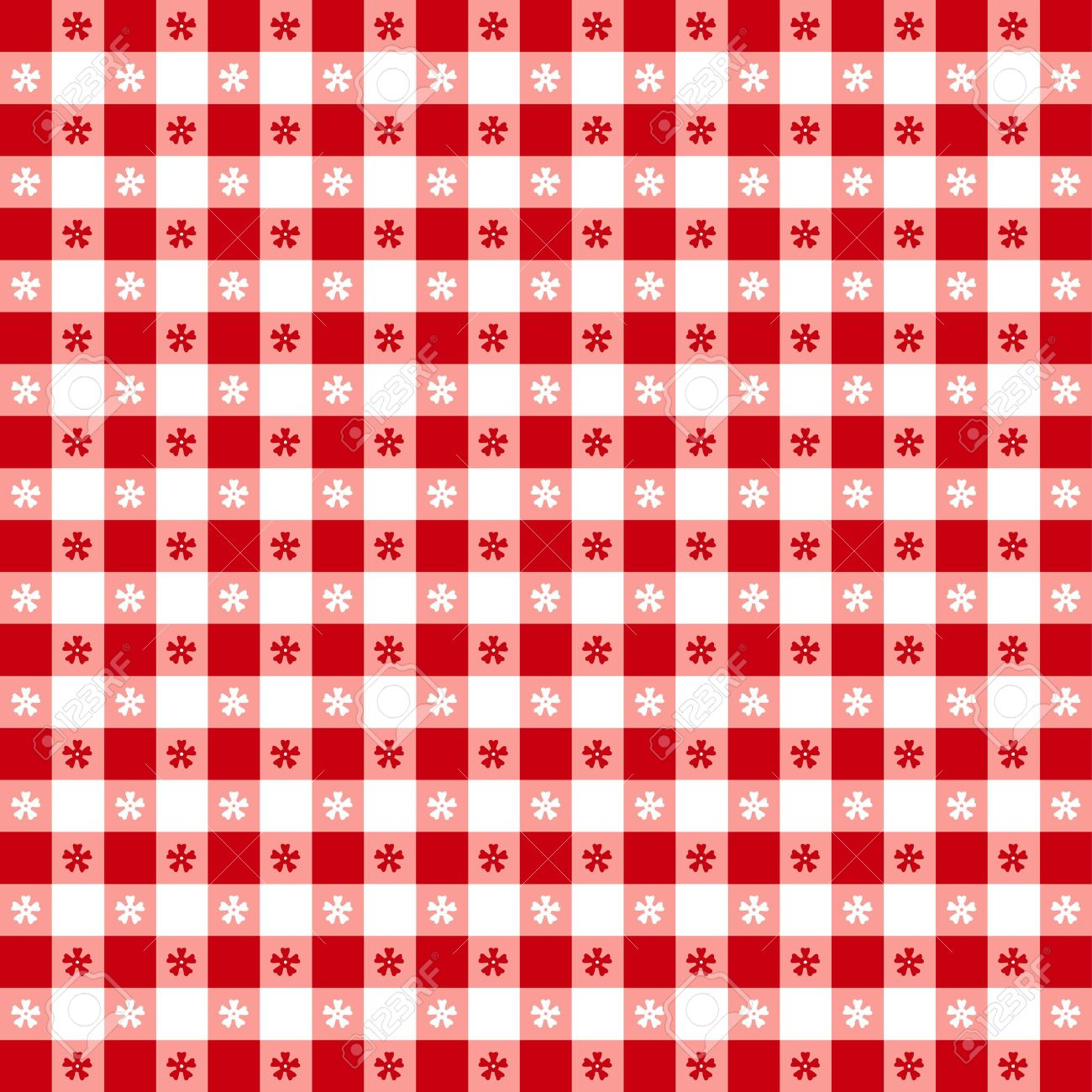 Seamless tablecloth pattern, red gingham check  EPS8 file includes pattern swatch that will seamlessly fill any shape  For picnics, restaurants, cafes, bistros, home decorating, arts, crafts, scrapbooks, albums Stock Vector - 13043248